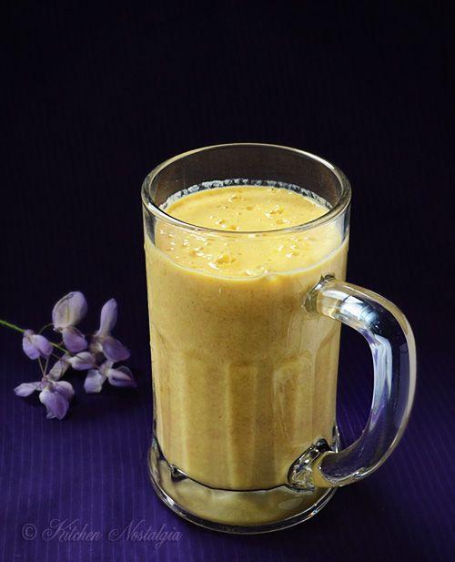 Mango Lassi - popular Indian summer drink