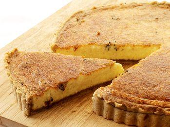 Parmesan Cheese and Walnut Tart from Cookstr.com #cookstr