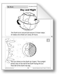earth's rotation and Day and Night (Earth & Space Science/Rotation ...