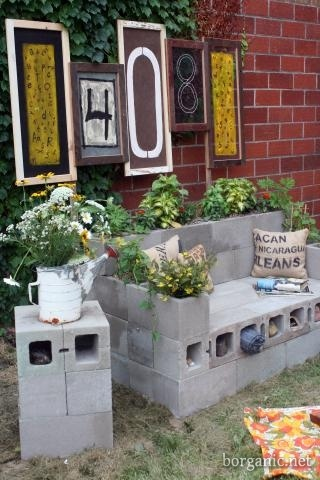 Cinder Block Furniture Diy Home Ideas Pinterest