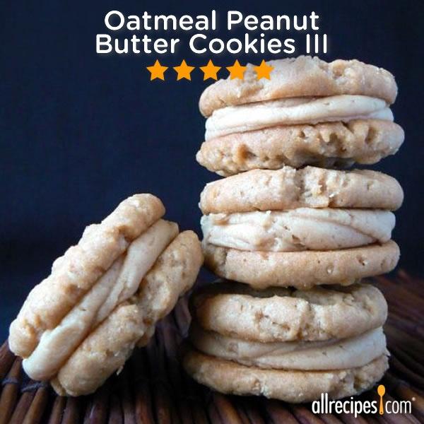 ... III) http://allrecipes.com/recipe/oatmeal-peanut-butter-cookies-iii