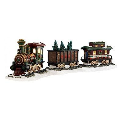 Train set christmas village birmingham