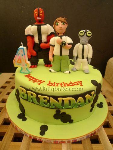 Ben10 Cake