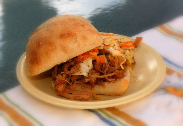Slow Cooker Pulled Pork Sandwiches | Recipe