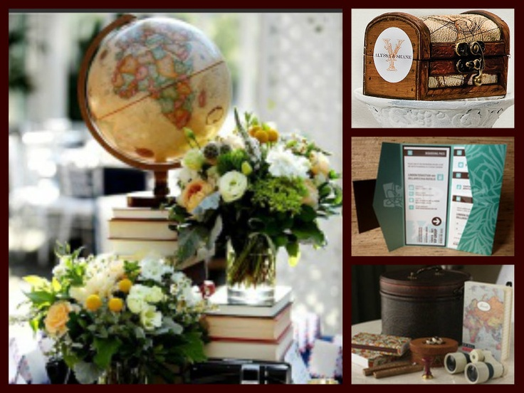 Travel Themed Table Decorations Wedding Decoration Ideas Image Collections Dress