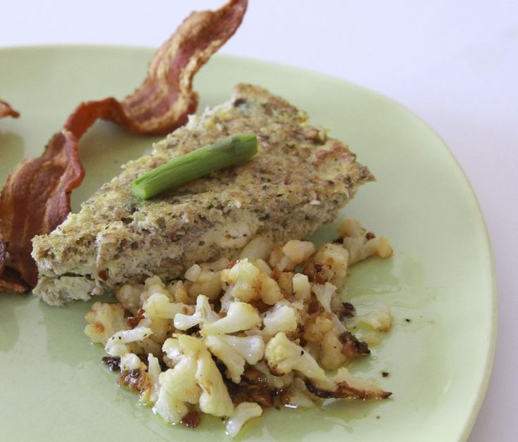 Gluten free Greek frittata. Only 3.6 carbs.