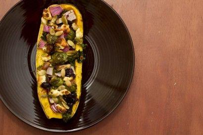 Roasted Stuffed Delicata Squash | Recipe