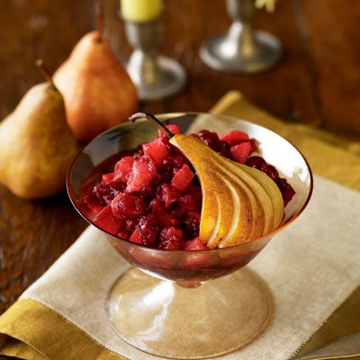 Ginger Pear Cranberry Sauce - the reason I'm on sauce duty for ...
