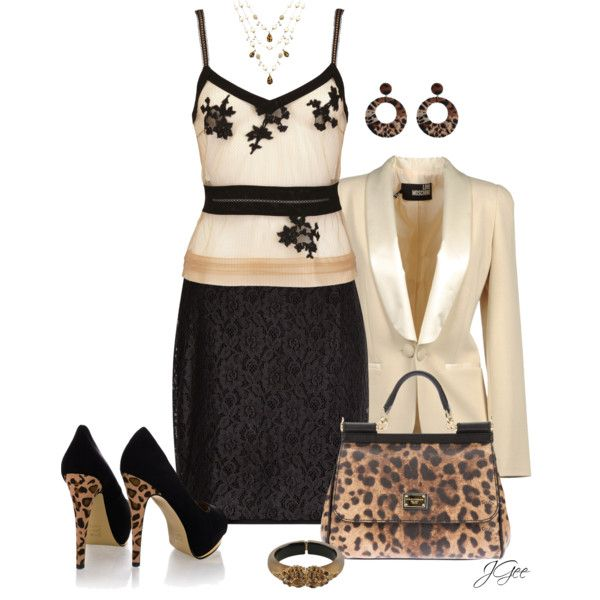 Leopard and Lace 2, created by jgee67 on Polyvore