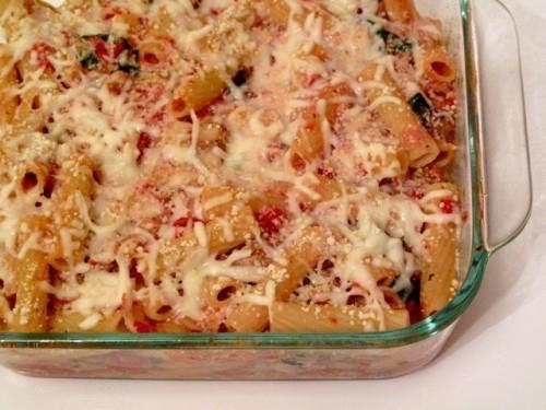 Vegetarian Baked Ziti Recipe | Food and Recipes | Pinterest
