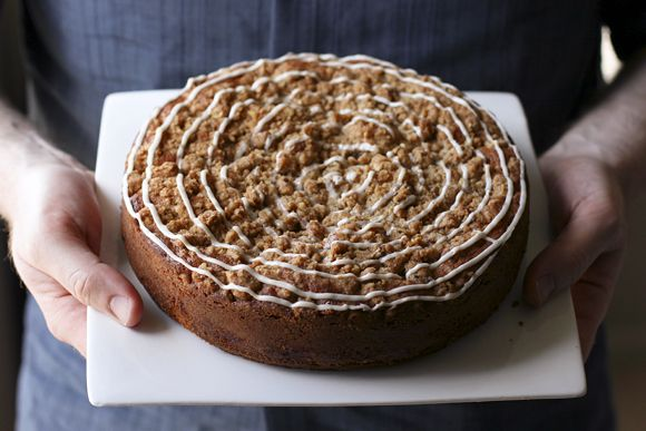peach buttermilk coffee cake. | Recipes | Pinterest