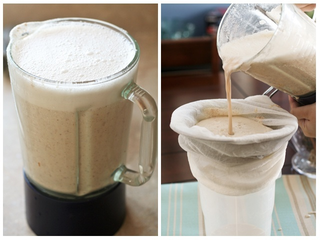 Totally Heavenly Home Made Vanilla Almond Milk