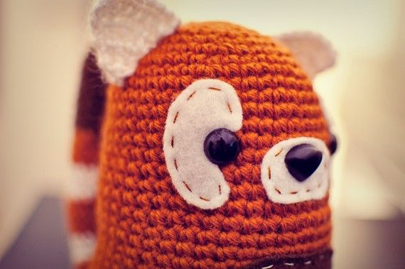 Amigurumi Red Panda Free Pattern : Pinterest: Discover and save creative ideas