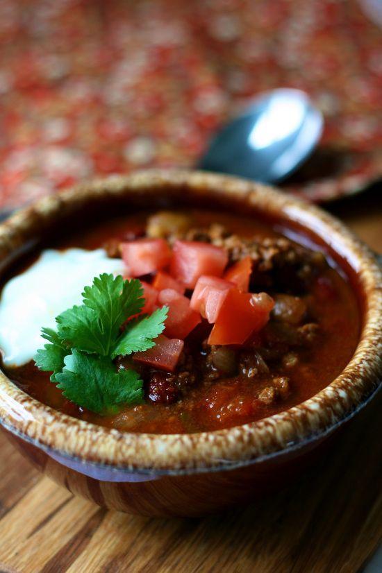 Jimmy Fallon's Crock Pot Chili