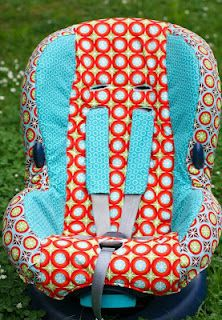 DIY CAR SEAT COVER! Awesome!