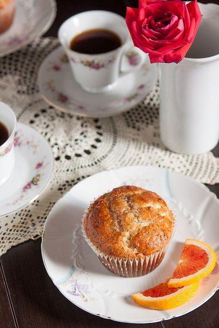 Orange Poppy Seed Muffins | Baking | Pinterest