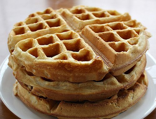 almond flour waffles Thanks for sharing at vegetarianmamma.com's # ...