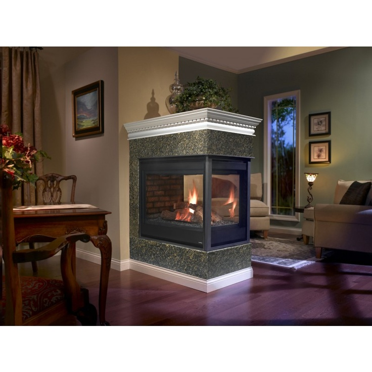 peninsula gas fireplace heatilator foyers au gaz gas