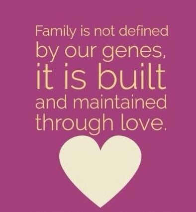 Quotes About Love Vs Family : Blended Family Quotes. QuotesGram