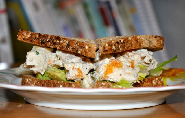 Chicken Salad with Apricots and Almonds | Food | Pinterest