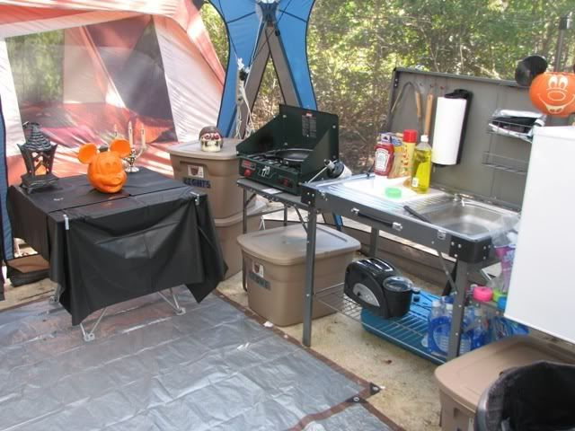 Pin by wendi nicole on camping rocks pinterest for Kitchen setup ideas