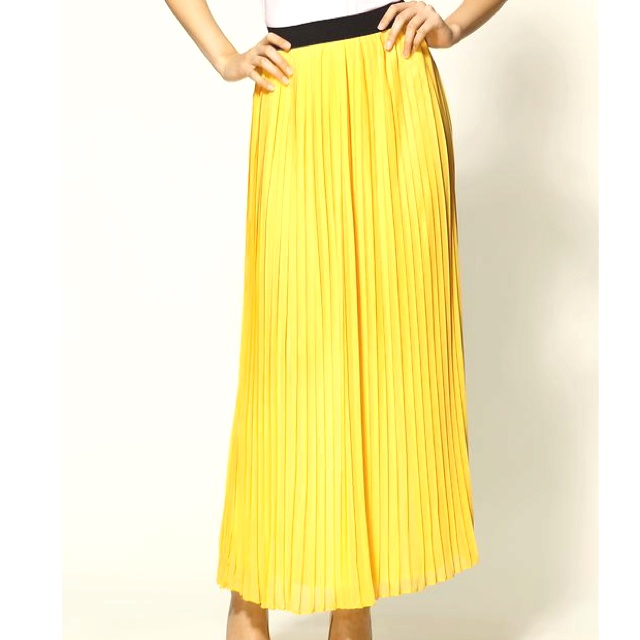 Yellow maxi skirt from piperlime need common fashion pinterest