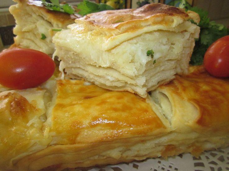 Теста для пирожков в духовке с сыром