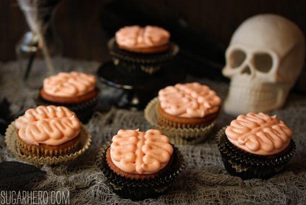 Brain Cupcakes | Celebrate | Pinterest