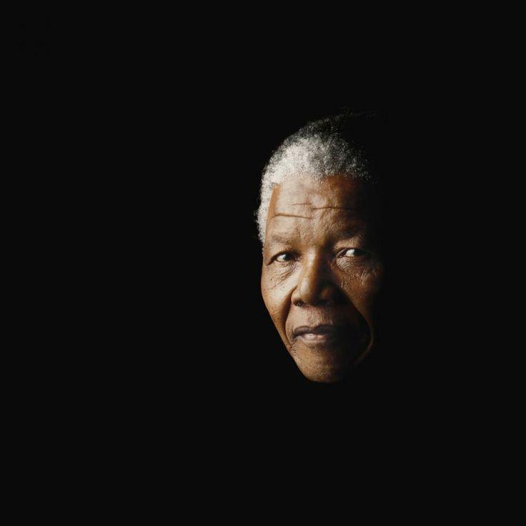Nelson Mandela, London, 1990 by Greg Bartley