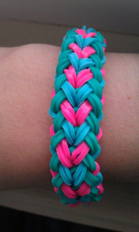 How To Basket Weave Bracelet : The basket weave bracelet rainbow loom bracelets