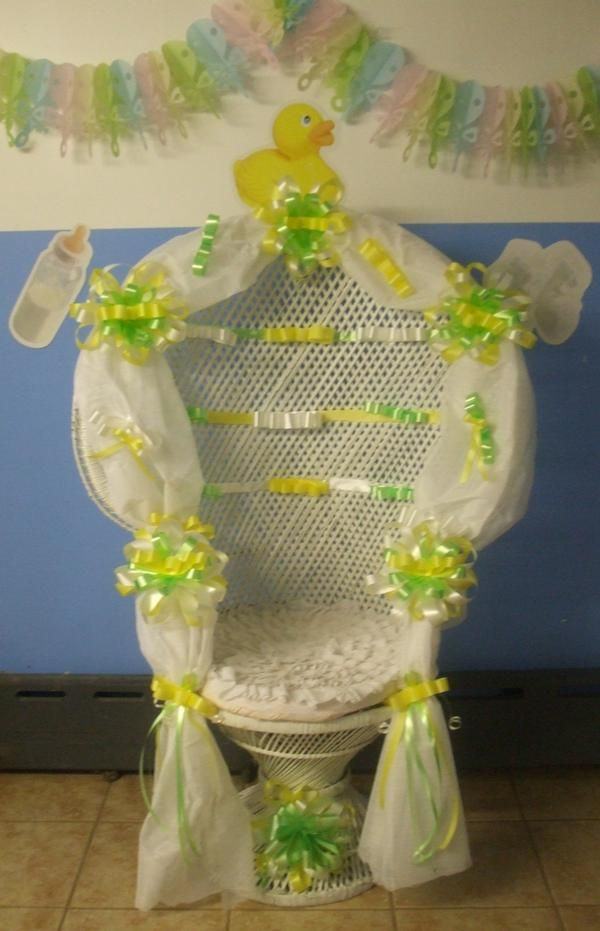 Baby Shower Chairs For Rent Boys Baby Shower Chair  Baby shower