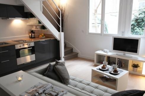 small flat in paris living small flat big ideas