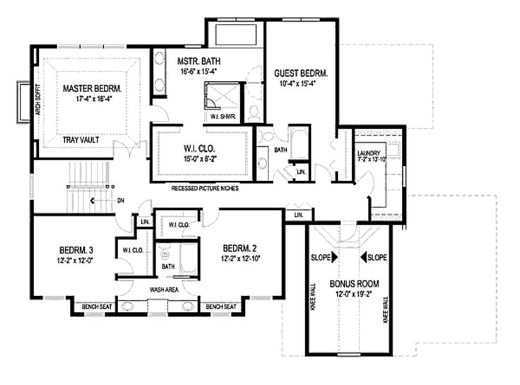 Jack and jill bath house plans pinterest for Jack and jill house