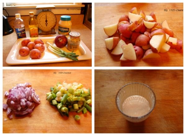 Baby Red Potato Salad! | Yummies for the family | Pinterest