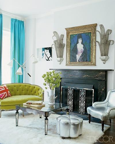 elle decor jonathan adler living room colour schemes combinations