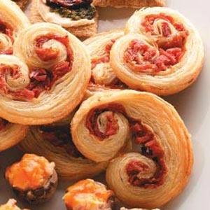 These Prosciutto Pinwheels are always an office hit!