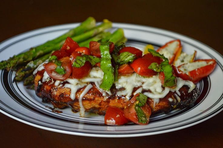 ... Day At A Time - From My Kitchen To Yours: Grilled Bruschetta Chicken