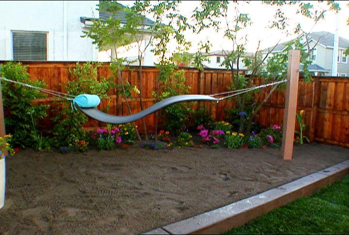 Landscaping Over Sand : Hammock over sand landscape design