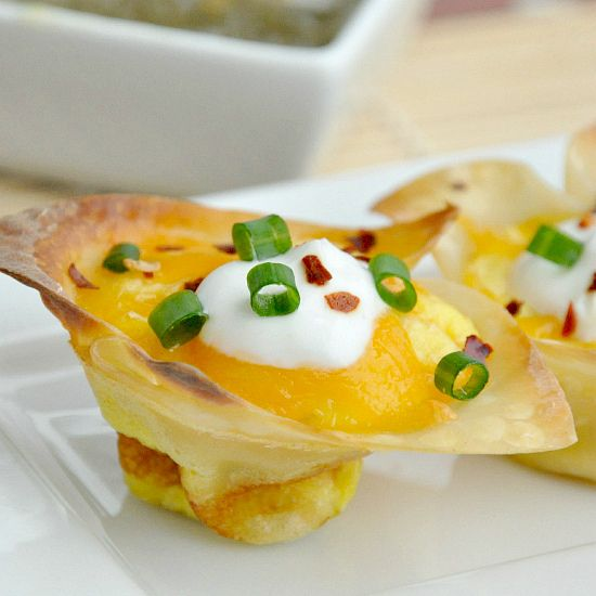 Jalapeno Popper Quiche Cups...crunchy little bits!