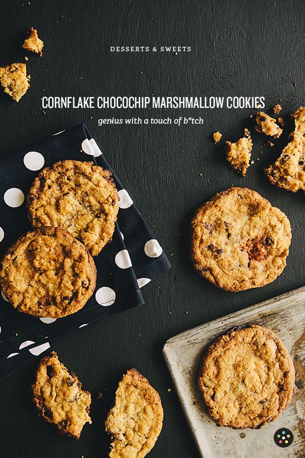 Cornflake Chocolate Chip Marshmallow Cookies from Milk: The Momofuku ...
