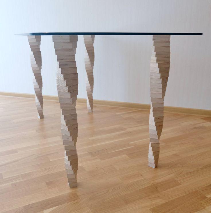 Сделать ножки для стеклянного стола своими руками 82