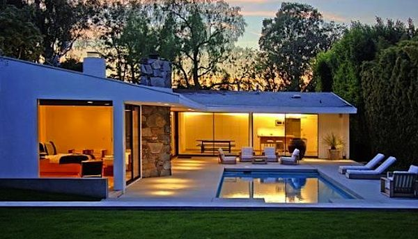 Ranch house with pool houses outdoor living pinterest for Most expensive house in la