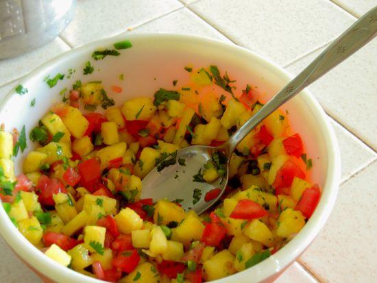 Pineapple Salsa | Let's Eat!! | Pinterest