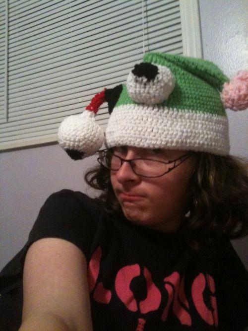 Crochet Zombie Hat : Zombie Santa Hat crochet pattern crochet fun hats Pinterest