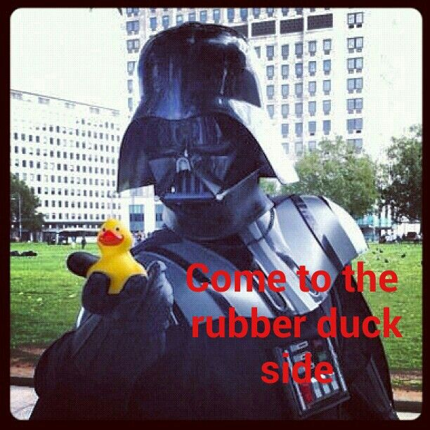 Darth vader rubber duck - photo#9