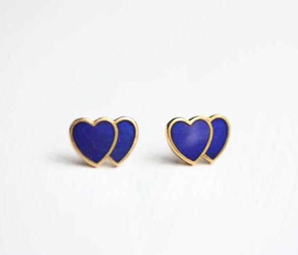 Twin Heart Studs :) Soo sweet :)