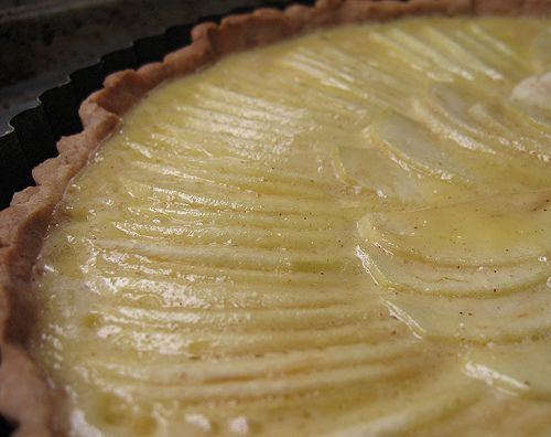 Apple custard tart | Pies, Cobblers, Trifles, and Others | Pinterest