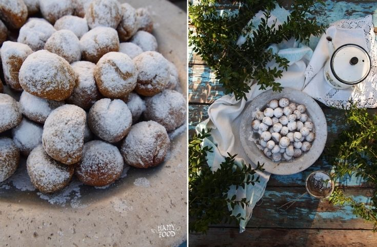 ... pumpkin polvorones - mexican wedding cookies (постный