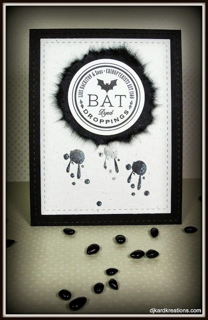 Halloween Bat Droppings!