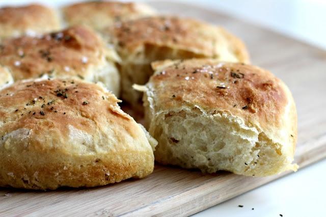 Milk and Honey- buttered rosemary rolls | breads | Pinterest
